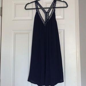 Navy Blue Lulu's Tank Dress